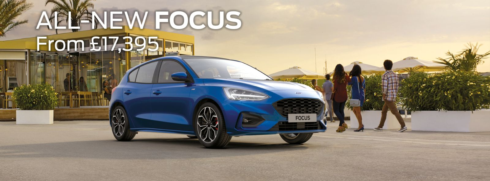 All new ford focus.