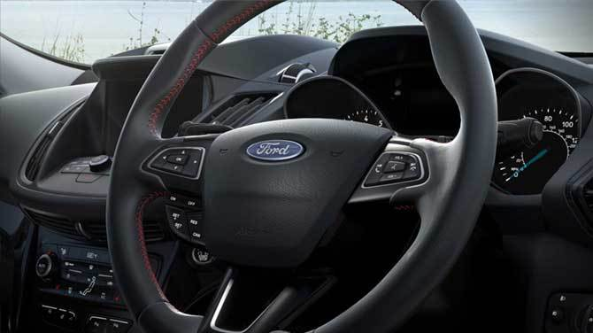 new ford kuga interior features in northampton