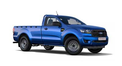 Ford New Ranger - Available In Blue Lightening