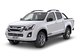Isuzu Blade - Available In Pearl White