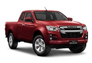 isuzu d max dl20 - Available in Spinel Red