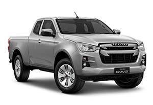 isuzu d max dl20 - Available in Mercury Silver