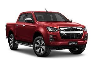 isuzu d max dl40 - Available in Spinel Red