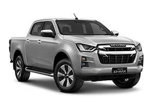 isuzu d max dl40 - Available in Mercury Silver