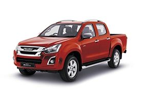 Isuzu Utah - Available In Spinel Red