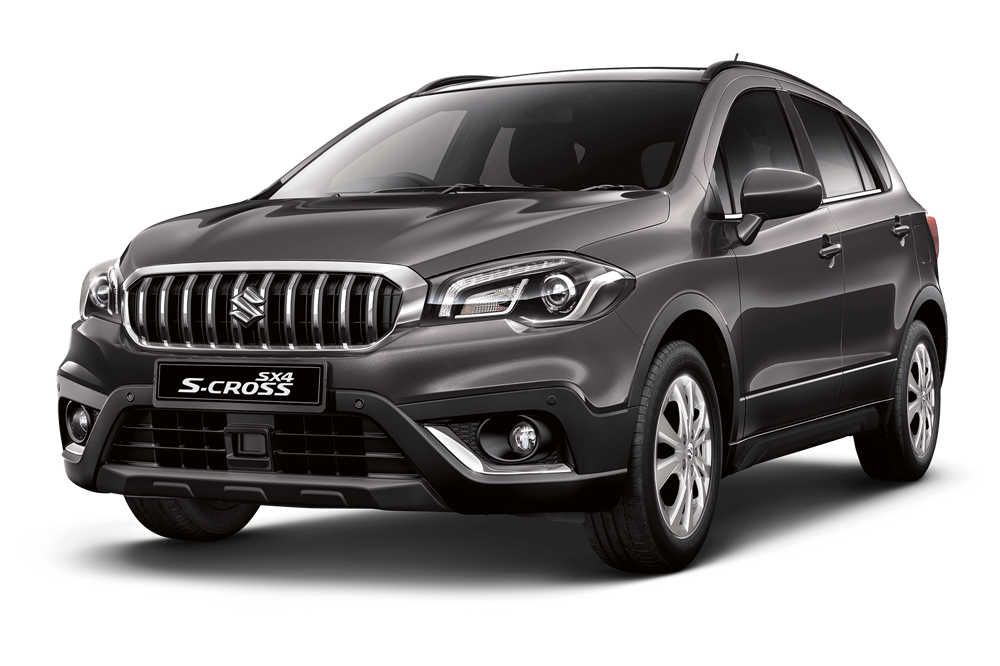 suzuki s cross - Available in Mineral Grey