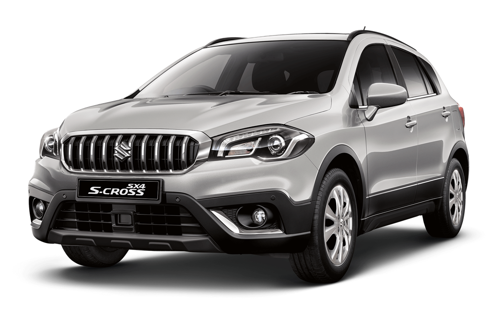 suzuki s cross - Available in Silky Silver Metallic