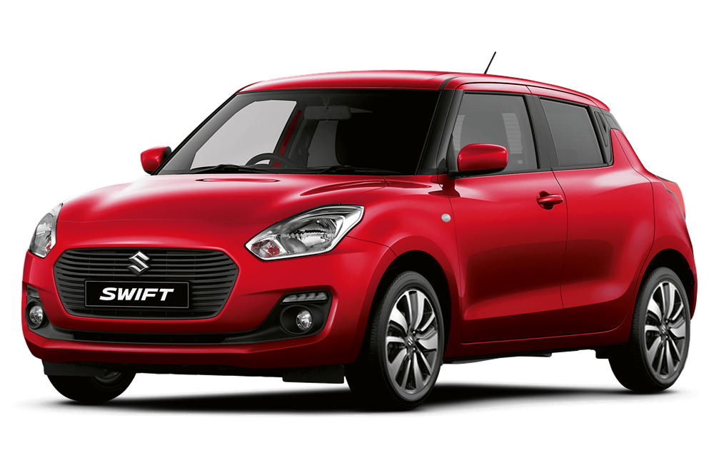 Suzuki Swift - Available In Burning Red Pearl Metallic