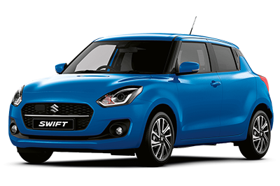 Suzuki Swift - Available In Speedy Blue Metallic